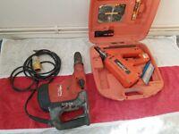 HILTI Hammer Drill and Paslode First Fix Nail Gun. (JOB LOT ONLY)