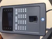 Fingerprint clicking in system