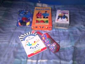 Assorted Juggling Items For Sale