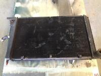 Ford escort mk4 Rs turbo radiator and fan