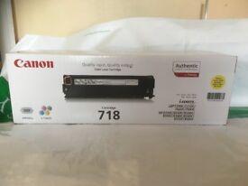 Cannon 718 printer Cartridges