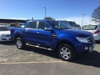16 Ford Ranger Limited Double Cab Pick Up