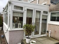 Conservatory for sale approx 5 by 3 5 years old