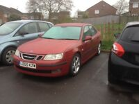 SAAB 9-3 2005 Spares or repair MECHANICALLY PERFECT!