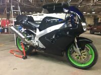 Yamaha YZF750 R road sports track bike May swap Drz, xt660, CRF, Dominator or similar. YZF 750 R