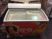 Walls ice cream freezer, shop retail freezer, catering,