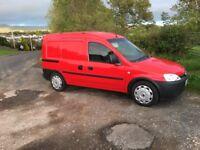 Vauxhall combo crew cab 1.7 dti