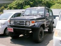 1989 Toyota Land Cruiser DIESEL 149 KMs IMPORT TO USA