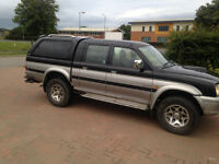 2002 MITSUBISHI L200 PICKUP TURBO DIESEL 6 MONTHS M-O-T,TOWBAR,READY FOR WORK £1275 OVNO
