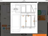 Vango inflatable drive-away awning kela 4