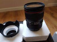 Canon EW-83M 24-105mm f/4 L IS USM Camera lens
