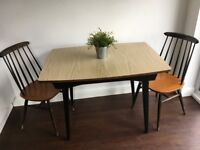 Vintage Formica Extending Dining Table