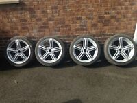 "VOLKSWAGEN 18"" ALLOY WHEELS"