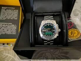 Breitling airwolf 2 superquartz mint 2011 rare boxes papers service cost £3400