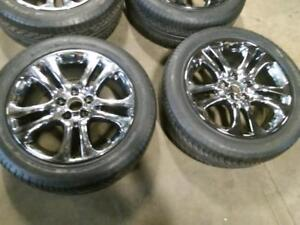 """19"""" ACURA MDX SUMMER FACTORY PACKAGE,5X120 OEM RIMS With TPMS AND 2755/45ZR19 MICHELIN DIAMARIS USED FOR SALE"""
