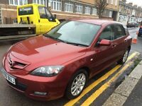 MAZDA 3 2009 1.6 AUTOMATIC MINT LOW MILEAGE FULL SERVICE HISTORY 1 FORMER OWNER 1 YEAR MOT!!