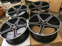 "Staggered Brand new boxed 20"" DOTZ BMW T5 5x120 bargain"