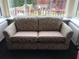 2seater beige sofa