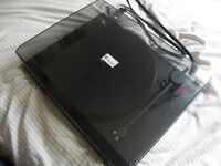 Project Essential Turntable Record Player, Like New!