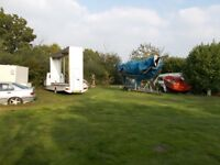 Outdoor Storage - Caravans, Cars, Boats etc - Near Norwich - From £5/week