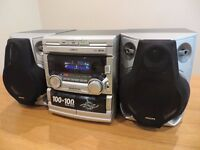 *** Philips Hi Fi System - Sound System - Stereo System - CD Player ***