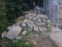 Yorkshire stone rockery