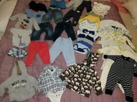Large bundle 6-9 months boys clothes