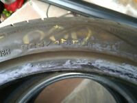 Mini pacemen run flat tyres x 2 225/45/R18