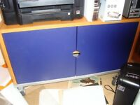 Ikea Cabinet with Wheels (Office or Living Room).