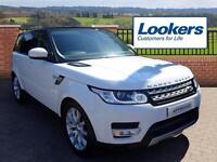 Land Rover Range Rover Sport SDV6 HSE (white) 2013-12-04