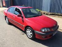 """TOYOTA,AVENSIS,GLS,AUTOMATIC,1998,4DR,SALOON,126BHP,RED"""