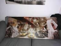 Long new York canvas