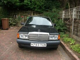 MERCEDES 190E 1991 ALLOY WHEELS V.GOOD CONDITION RUNS VERY WELL