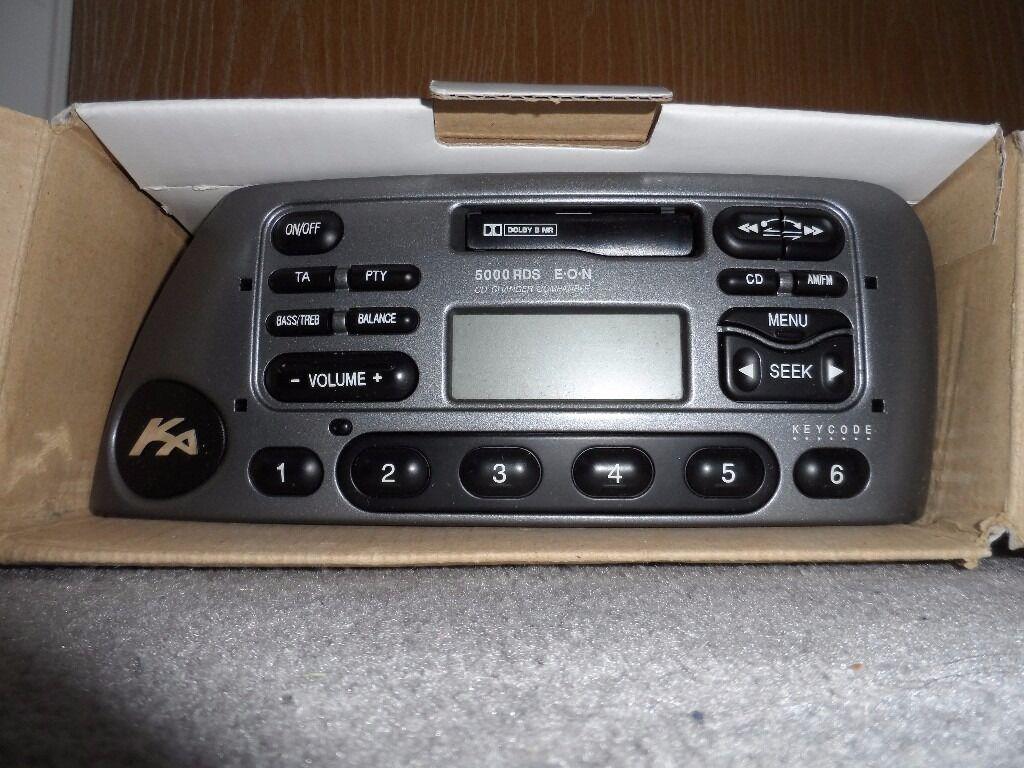 Ford Ka Radio Cassette Player Unit