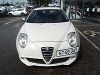 2010 59 ALFA ROMEO MITO 1.4 VELOCE 16V 3D 95 BHP***GUARANTEED FINANCE***PART EX WELCOME***