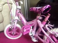 Girls bike 3-6yrs