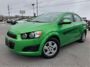 2015 Chevrolet Sonic LT Auto GREAT COLOUR LOW KMS!! BACK UP CAME