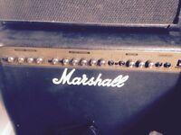 marshall 80 watt combo (similar to 100w dfx, but not as thin sounding)