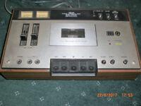 Vintage Akai tape deck