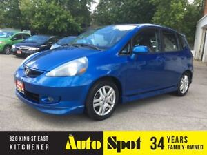 2007 Honda Fit Sport/LOW, LOW KMS!/PRICED FOR A QUICK SALE!
