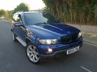 BMW X5 3.0 d BluePerformance Le Mans Blue Sport 5dr FSH+TV+XENON+SATNAV CALL 07479320160