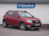 Dacia Sandero Stepway 0.9 TCe Ambiance 5Dr Hatchback (red) 2014