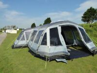 outwell vermont 7SA luxury airbeam tent