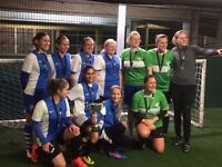 Womens 5-a-side team need goalkeeper and players
