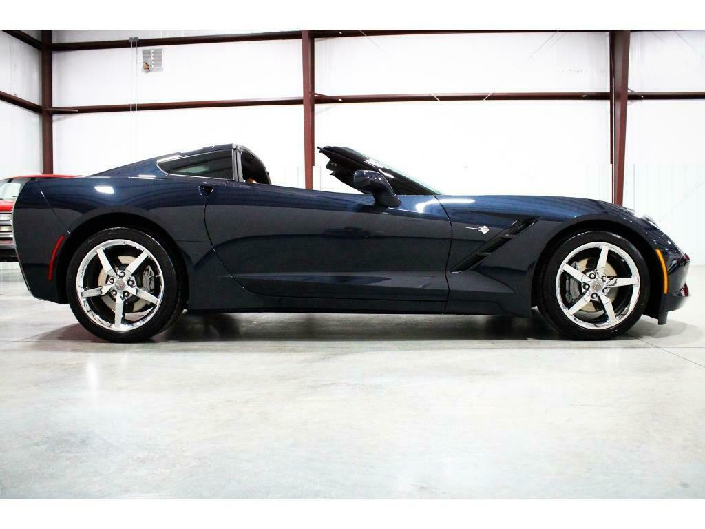 2014 Blue Chevrolet Corvette Stingray 2LT   C7 Corvette Photo 6