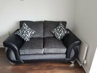 Matching pair of sofas - 2 seater and 4 seater in great condition only 1 year old from DFS