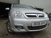 06 VAUXHALL MERIVA 1.4,MOT APRIL 017,3 OWNERS FROM NEW,GREAT FMILY CAR,VERY RELIABLE MPV CAR