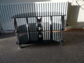 Glass TV Table in Good Condition
