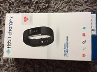 Never used boxed black large Fitbit Charge 2. With guarantee.