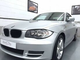 BMW 118d Sport Coupe Silver, Diesel, Very Low mileage, full service history